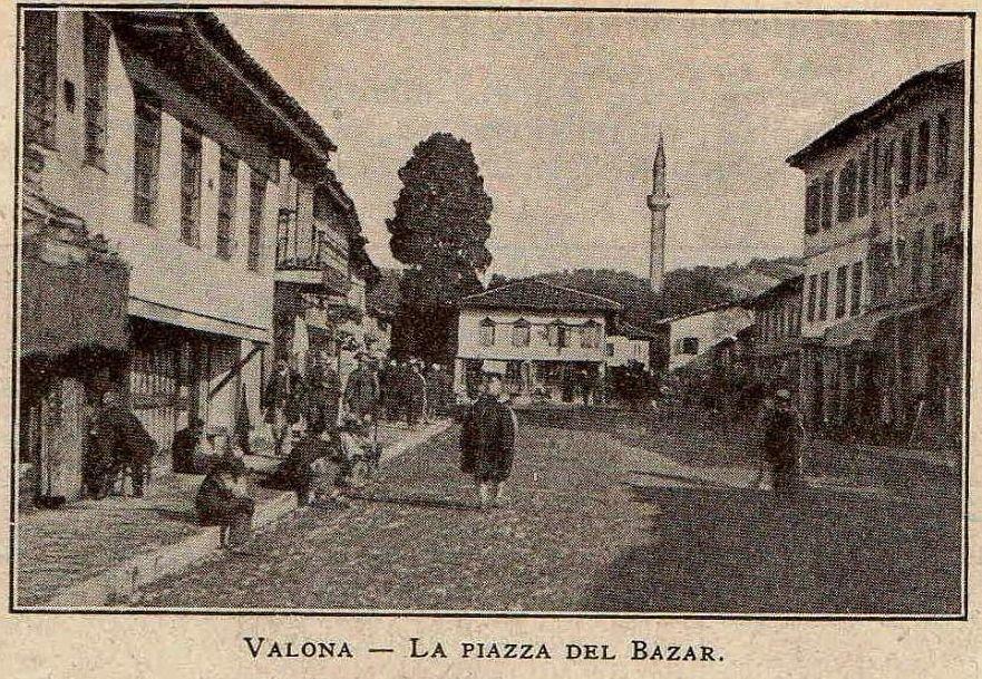 Vlorë - Pjaca e Pazarit