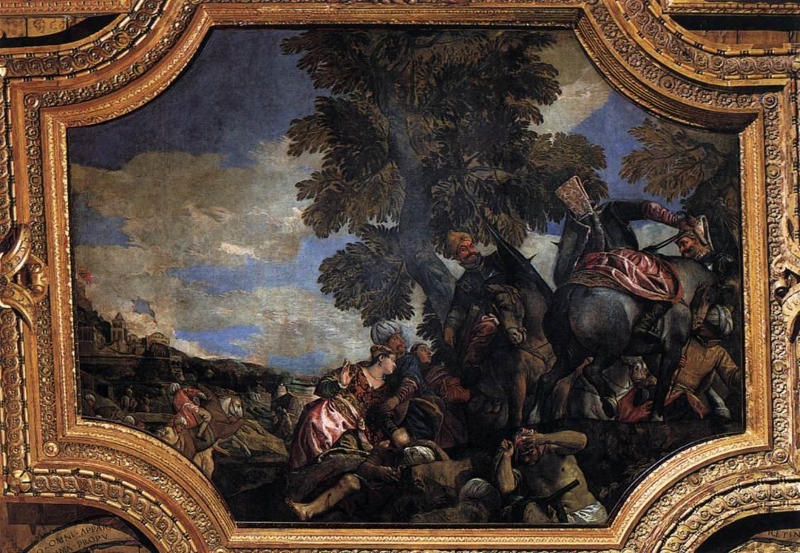 Paolo Veronese Siege of Shkodra (Scutari d'Albania)